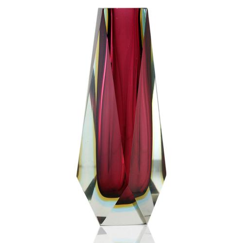 Murano Sommerso Triple Cased Vase