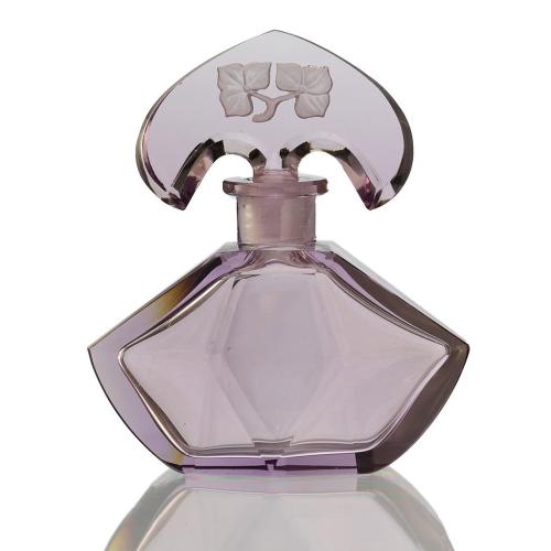 c.1930s Czechoslovakian Lilac Glass Art Deco Scent Perfume Bottle