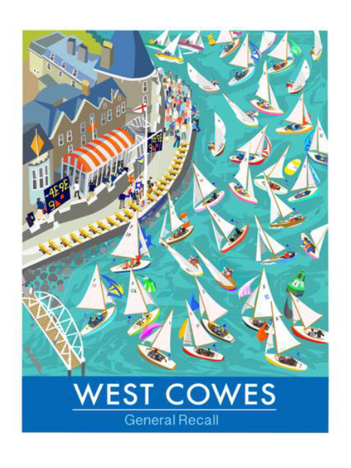 West Cowes General Recall - large unframed