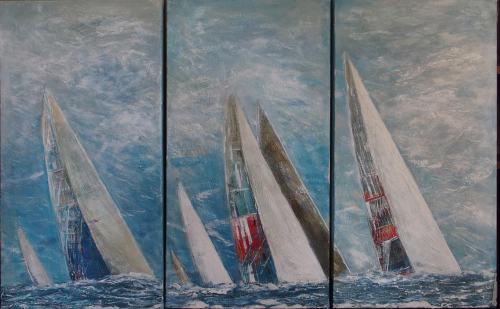 The Winner Takes it All Triptych
