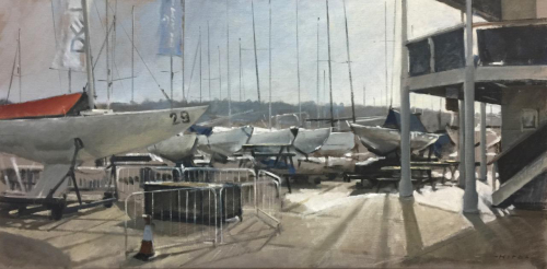 Cowes Yacht Haven, Bright Morning