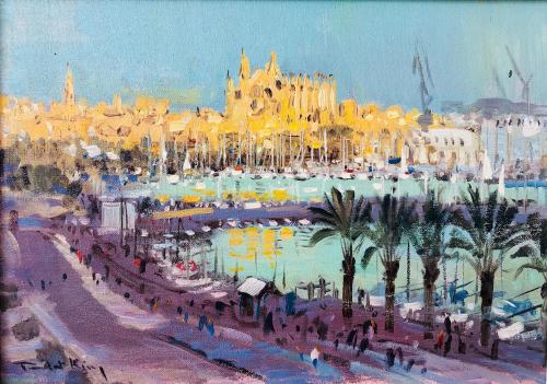 Evening Sunlight Palma Mallorca