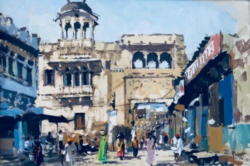 Old City Gate Bundi India