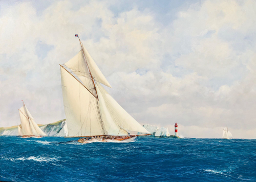 Out and Beyond, Classic Yachts Racing off the Needles
