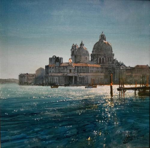 Venice, view towards Salute
