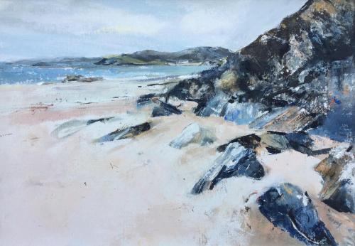 Beach Rocks, Clashnessie Scotland