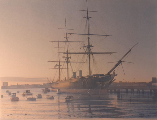 The Warrior at Portsmouth