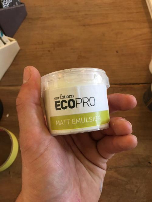 Earthborn Matt Emulsion 100ml White Tester