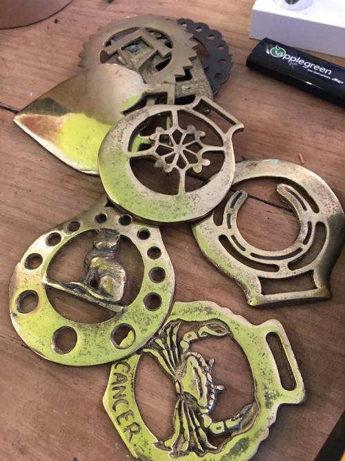Brass Buckles (Each)