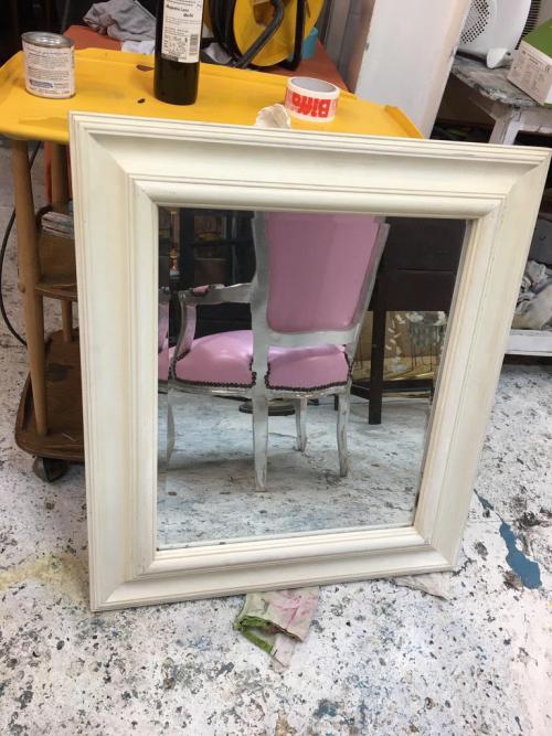 Large Square Mirror