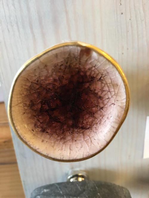 mink ceramic concave knob