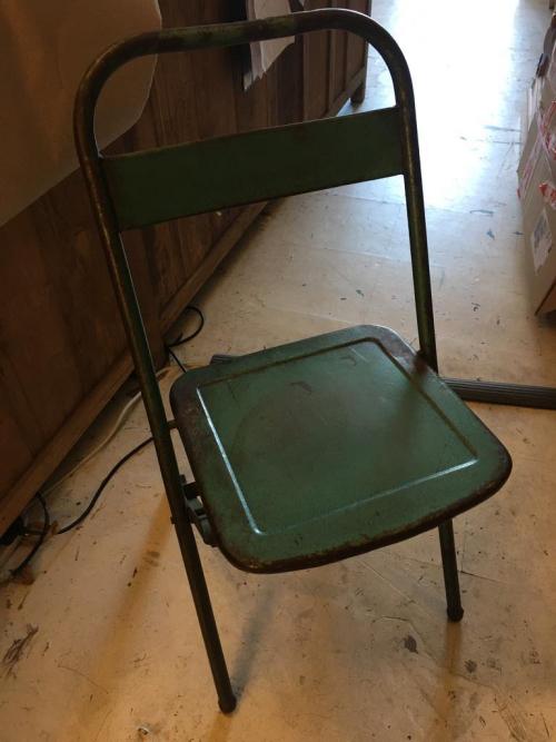 Antique Metal Chair Various Colours
