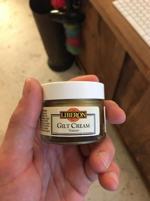 Gilt Cream Trianon