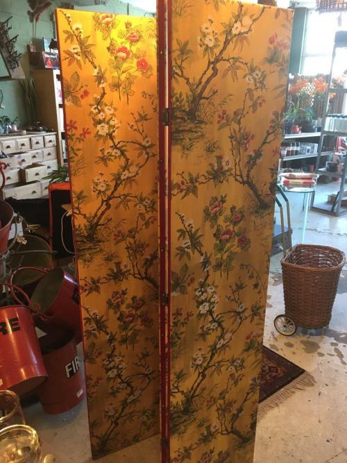 Woodchip & Magnolia Wallpaper  Room Divider