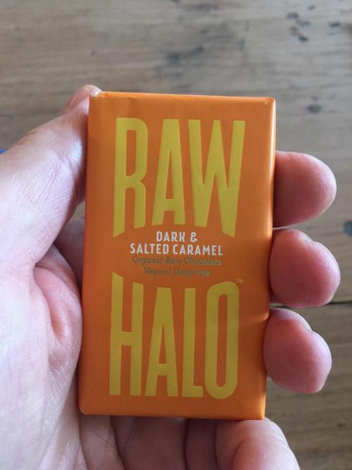 RAW HALO Dark & Salted Caramel 22g