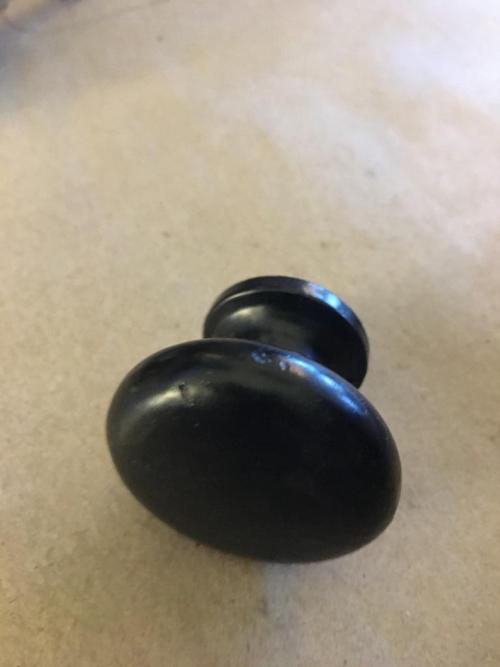 Black Satin Shaker Cast Iron
