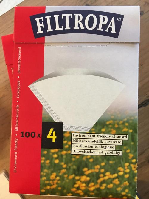 Filtropa No.4 Filters 100pk