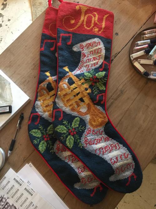 pair xmas stockings