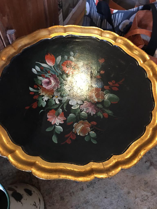 Painted Tray