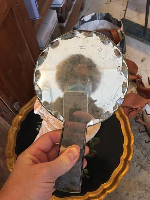 Deco Hand Mirror