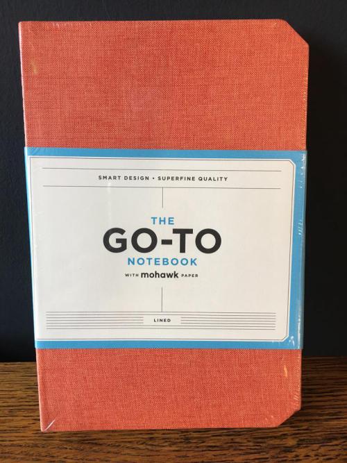 The Go-To Notebook Orange
