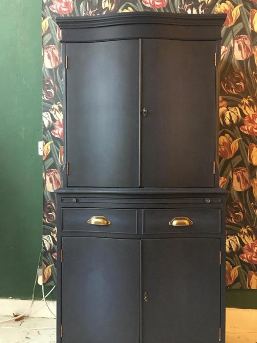 Sailor's Blue Versante  Drinks Cabinet