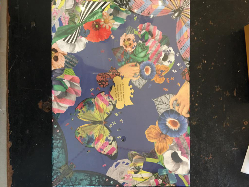 Christian Lacroix Game Box  Shaped Puzzles