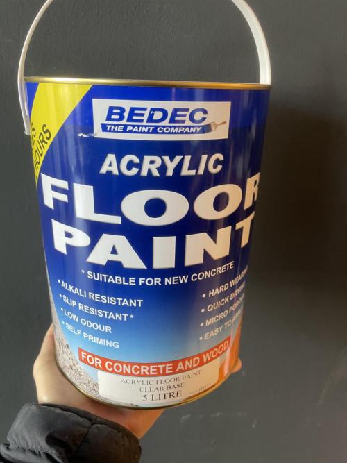 Floor Paint 5L Pastel Base