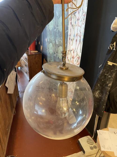 Globe Ceiling Light