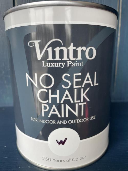 No Seal Chalk Paint 1L (Custom Colour) White Base