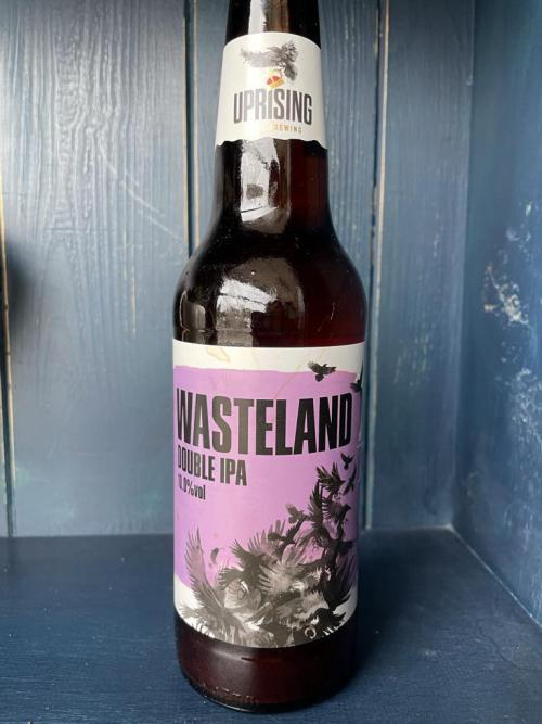 Uprising Wasteland Double IPA 10% vol