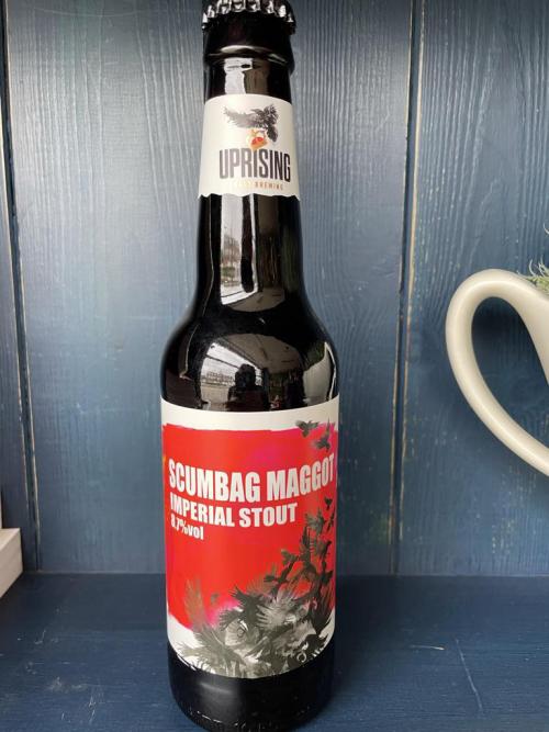 Uprising Scumbag Maggot Imperial Stout 8.7% vol