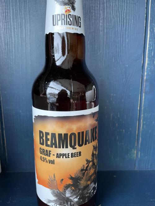 Uprising Beamquake GRAF - Apple Beer 4.5% vol