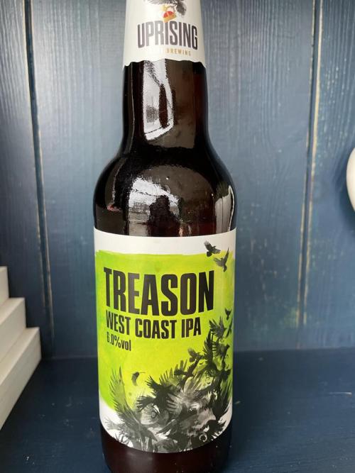 Uprising Treason West Coast IPA 6.0%