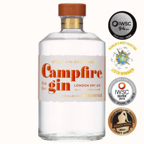 Campfire Gin London Dry 50cl