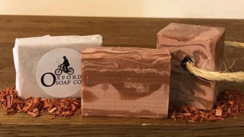 Oxford Soap Co. Sandalwood & Vanilla Soap