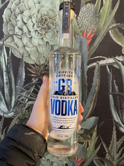 Griffith Brothers Vodka 70cl