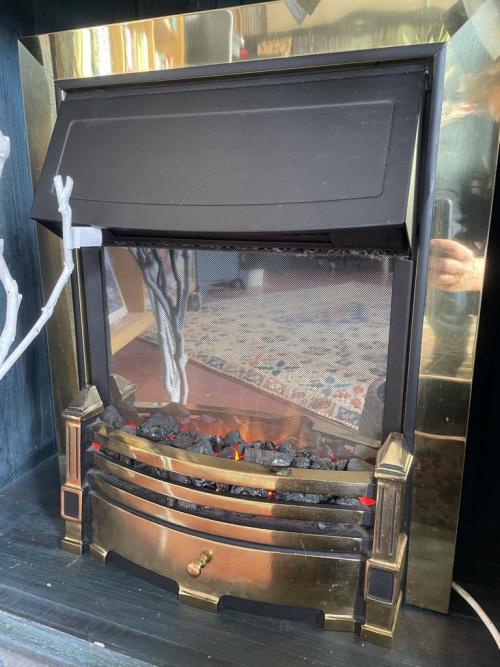 Dimplex Electric Faux Fireplace & Heater
