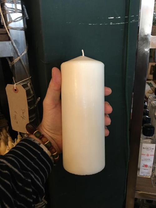 Large White Pillar