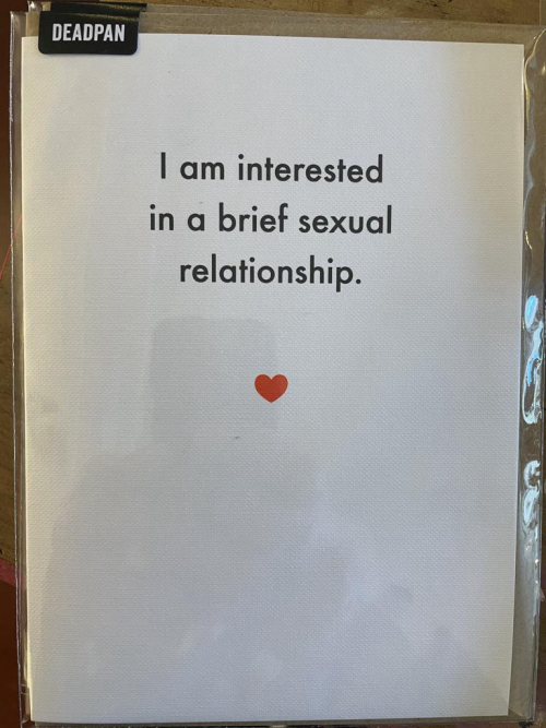 I am interested i a brief sexual relationship