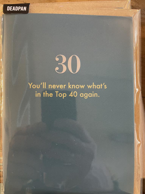 You'll never know what's in the top 40 again