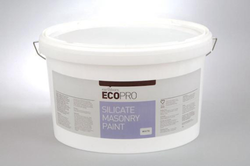 Silicate Masonry Paint White 10L
