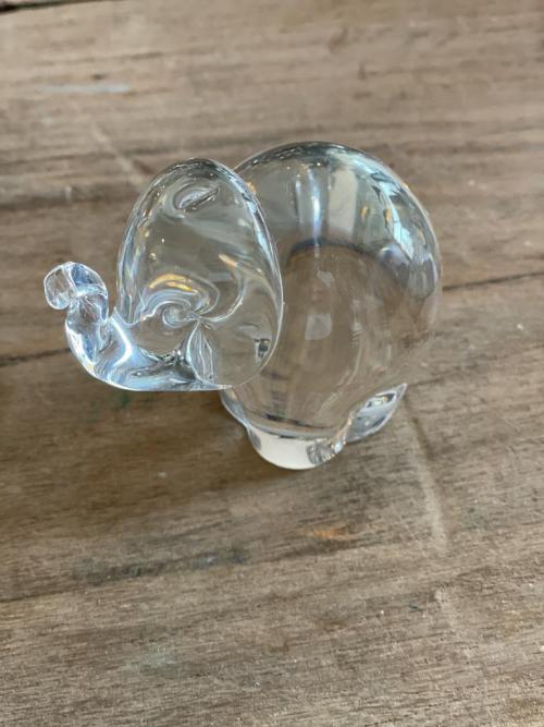 Glass Elephant Large