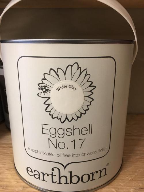 Eggshell No.17 WHITE CLAY 2.5L