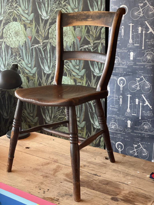 Small Brown Chair