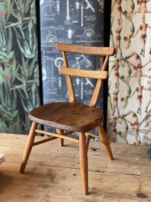 Small Ercol Child's Seat