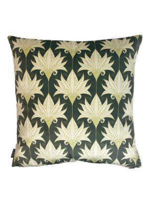 'Green Lily' Cushion LA109