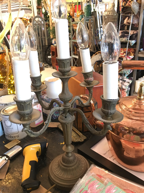 french table chandelier