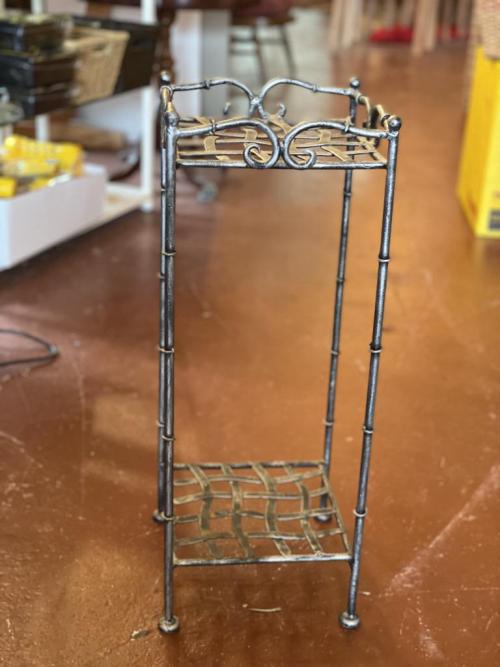 Metal Petite Shelf / Stick Stand