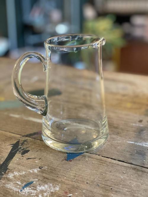 Glass Milk Jug